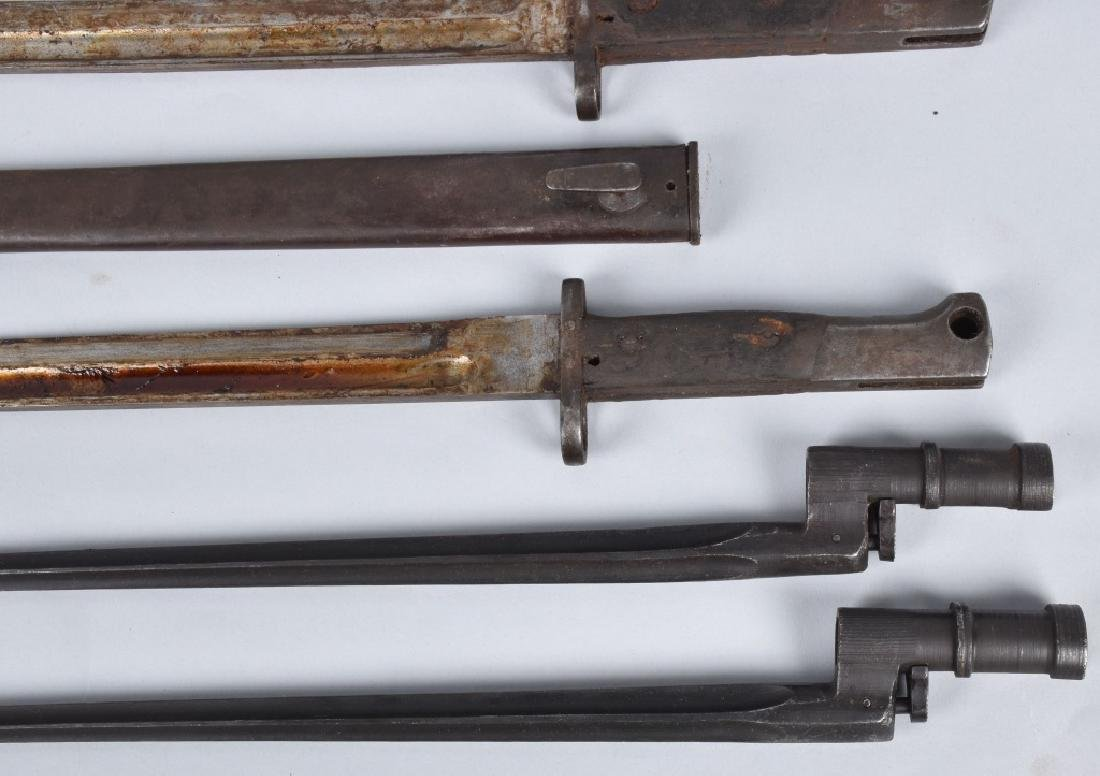 6-MILITARY RIFLE BAYONETS, WW1 and MORE - 3