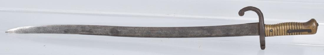 FRENCH M1866 CHASSEPORT BAYONET - 5