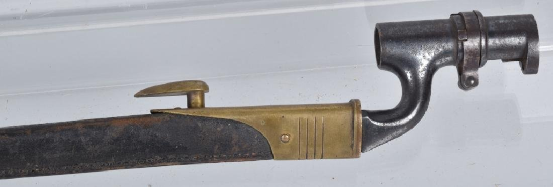 BRITISH M1895, ENFIELD BAYONET & SCABBARD - 5