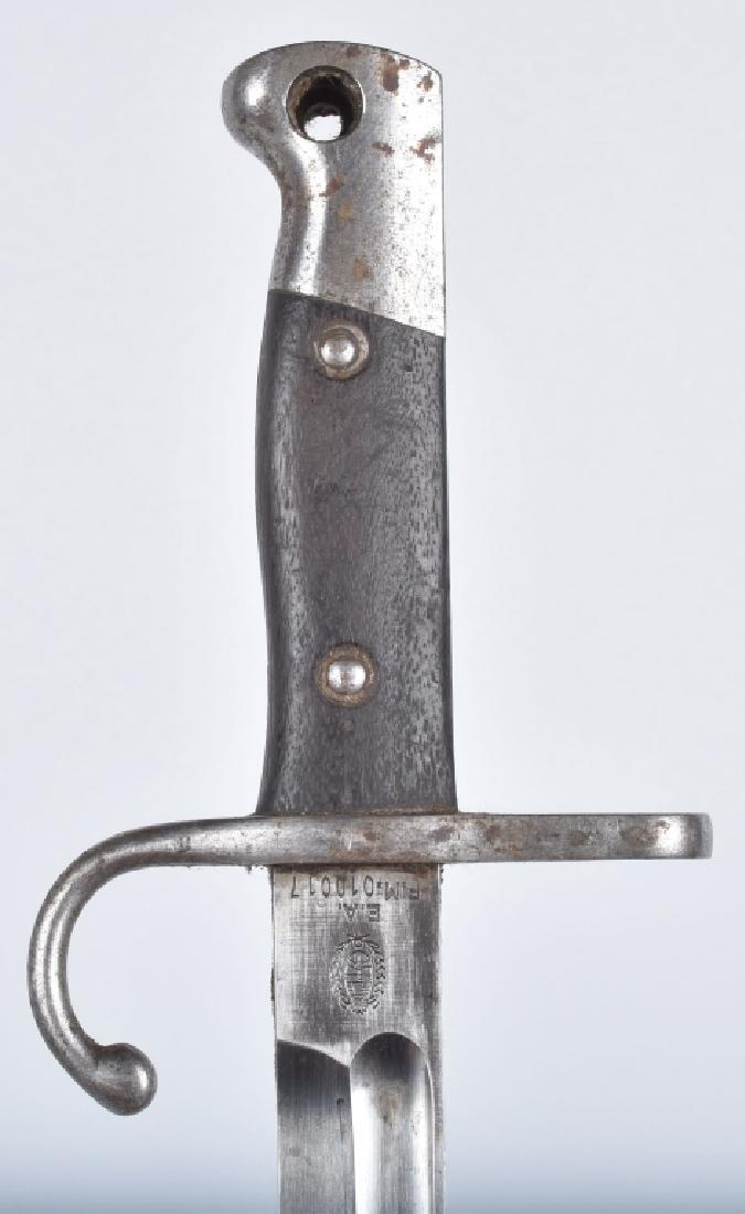 ARGENTINE M1909 MAUSER BAYONET & SCABBARD - 2