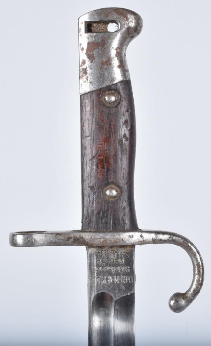 ARGENTINE M1909 MAUSER BAYONET & SCABBARD - 3