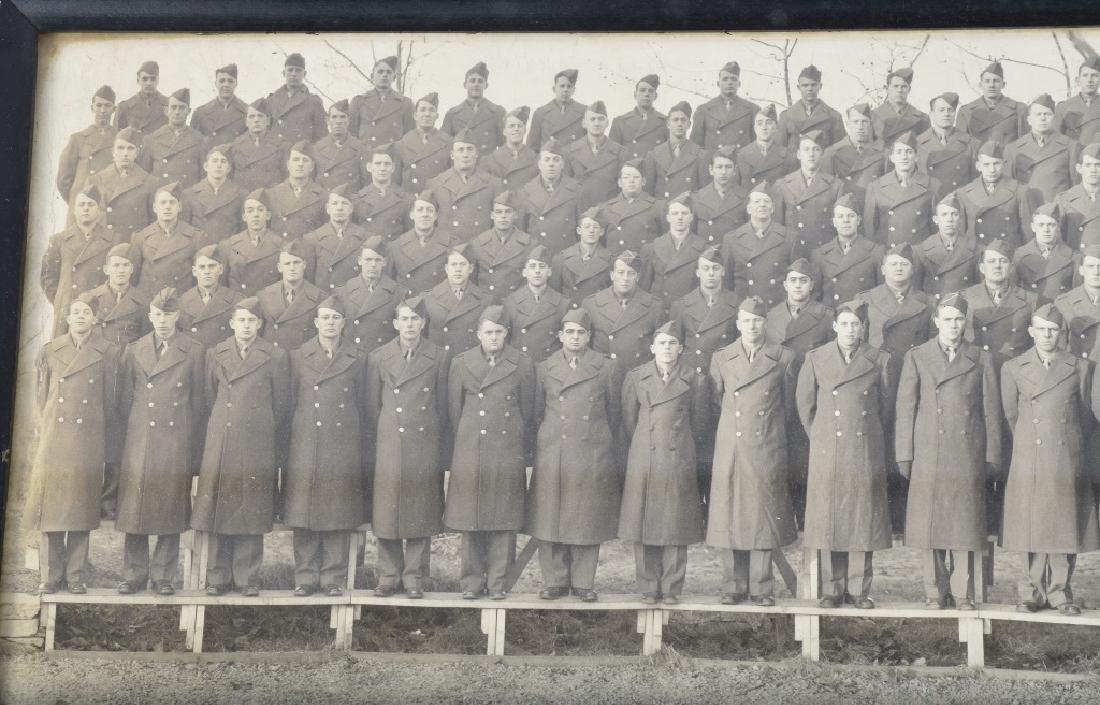 WW2 UNITED STATES 1942 ARMORED YARD LONG PHOTO - 2