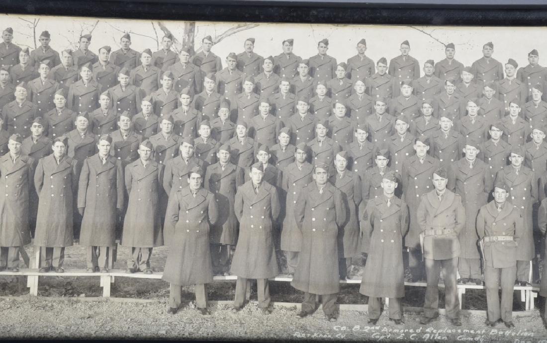 WW2 UNITED STATES 1942 ARMORED YARD LONG PHOTO - 3
