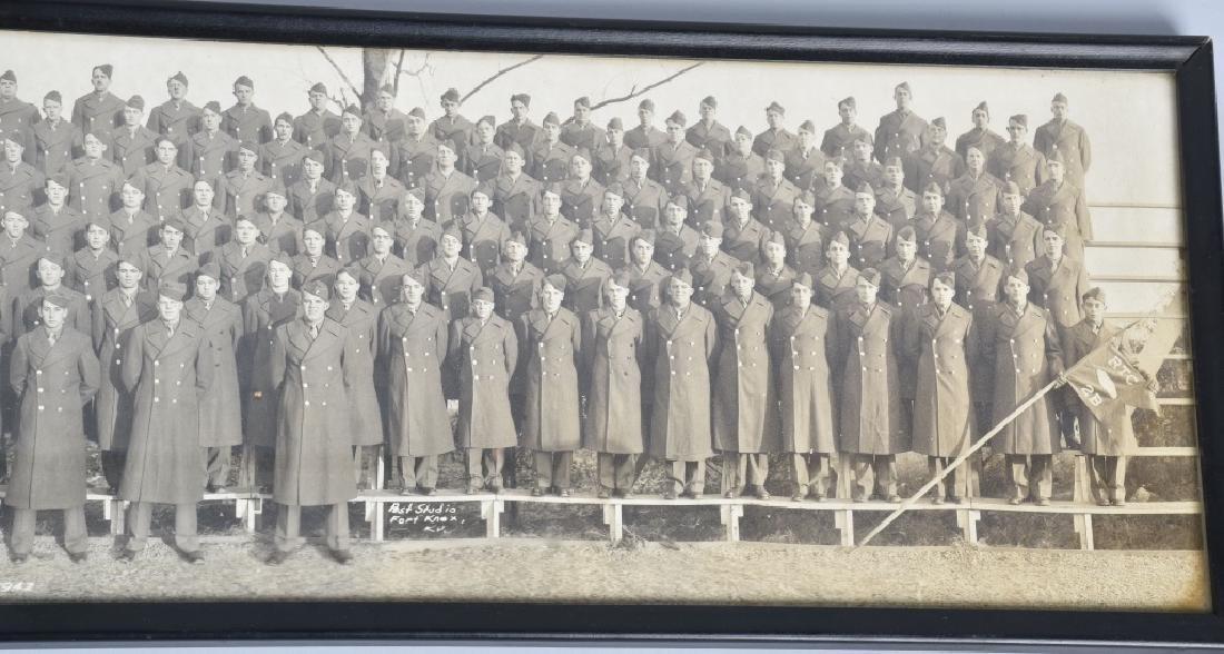 WW2 UNITED STATES 1942 ARMORED YARD LONG PHOTO - 4