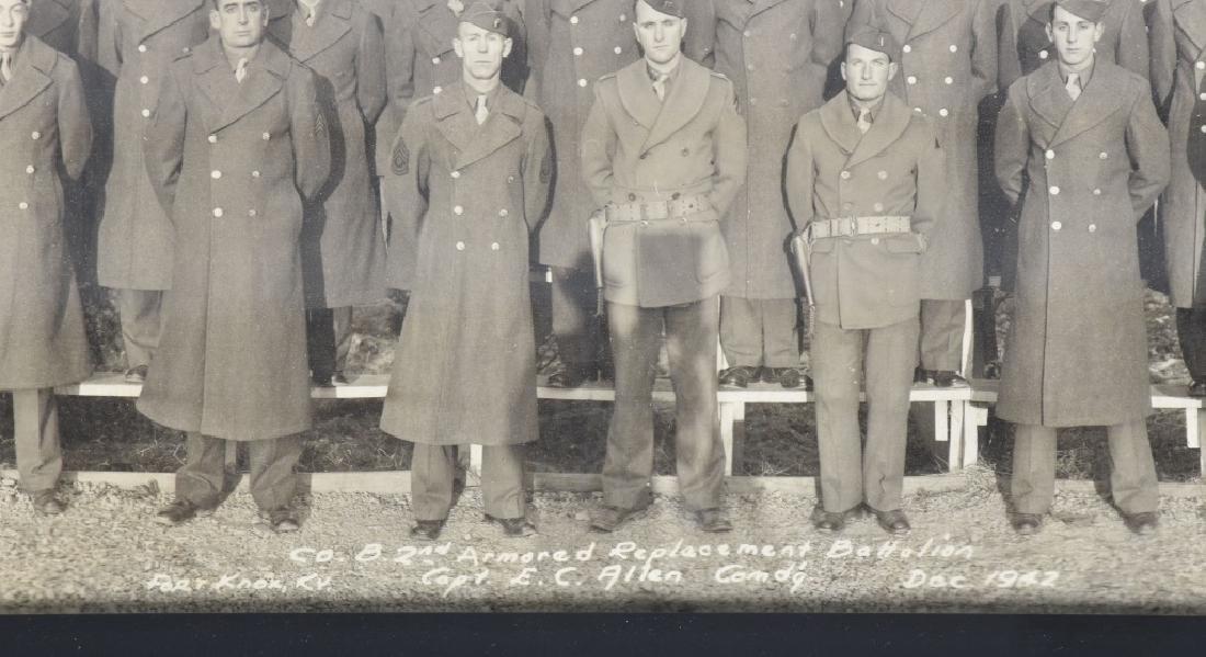 WW2 UNITED STATES 1942 ARMORED YARD LONG PHOTO - 5