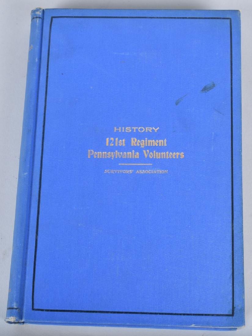 CIVIL WAR 121st REGIMENT PENNSYLVANIA BOOK
