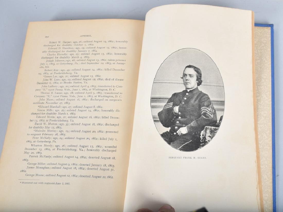 CIVIL WAR 121st REGIMENT PENNSYLVANIA BOOK - 5