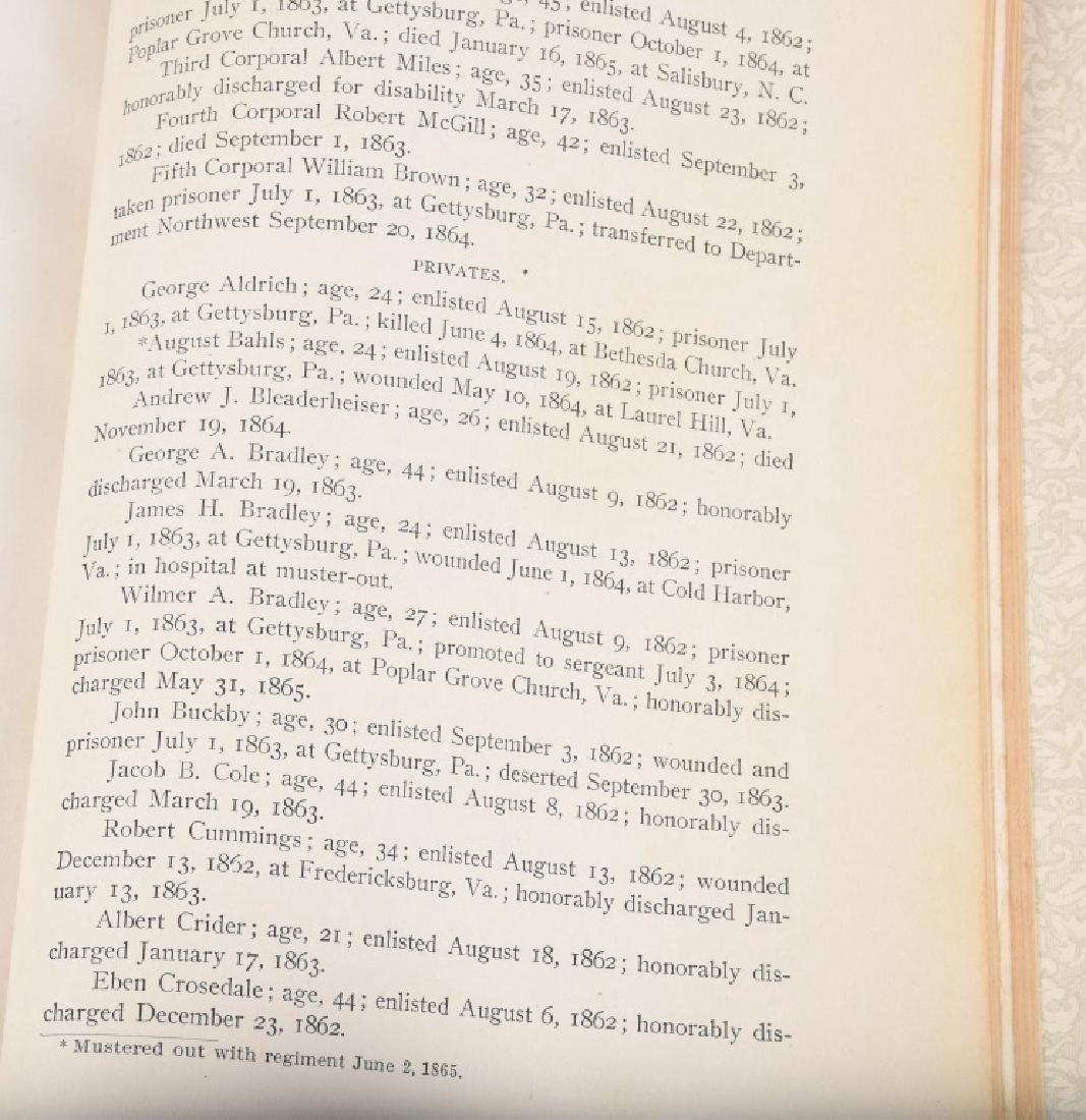 CIVIL WAR 121st REGIMENT PENNSYLVANIA BOOK - 6