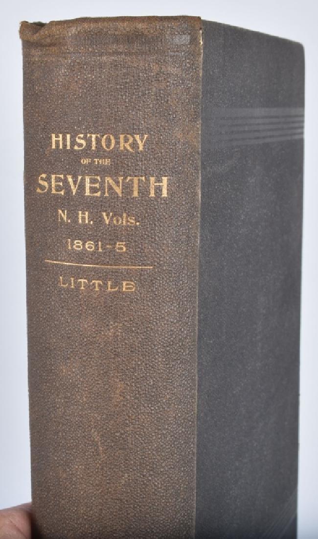 CIVIL WAR 7th NEW HAMPSHIRE VOL INFANTRY BOOK - 2
