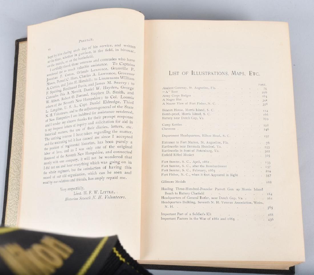 CIVIL WAR 7th NEW HAMPSHIRE VOL INFANTRY BOOK - 3