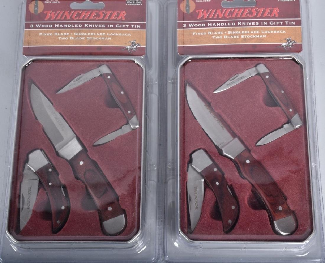 4- WINCHESTER COLLECTOR KNIFE SETS MIB - 2