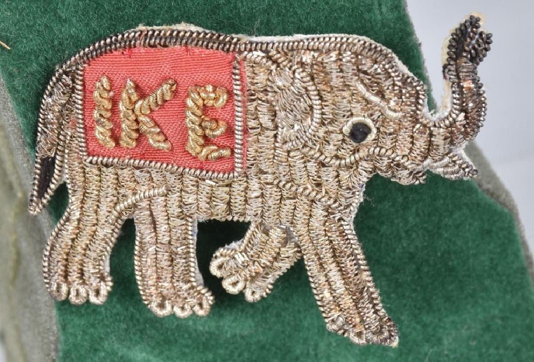 NIXION & IKE ELEPHANT BULLION PINS - 3