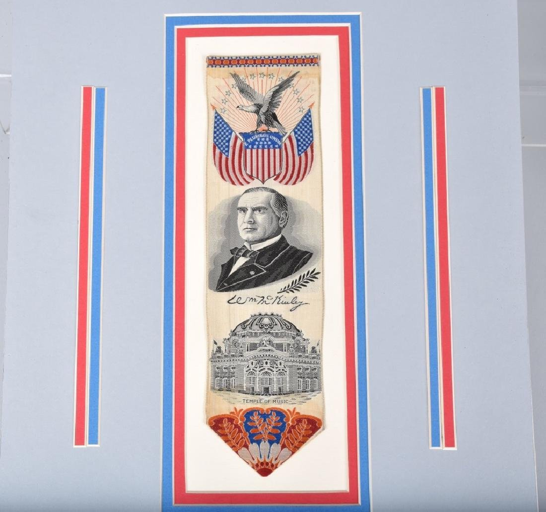 McKINLEY & PORTER POLITICAL RIBBONS - 2