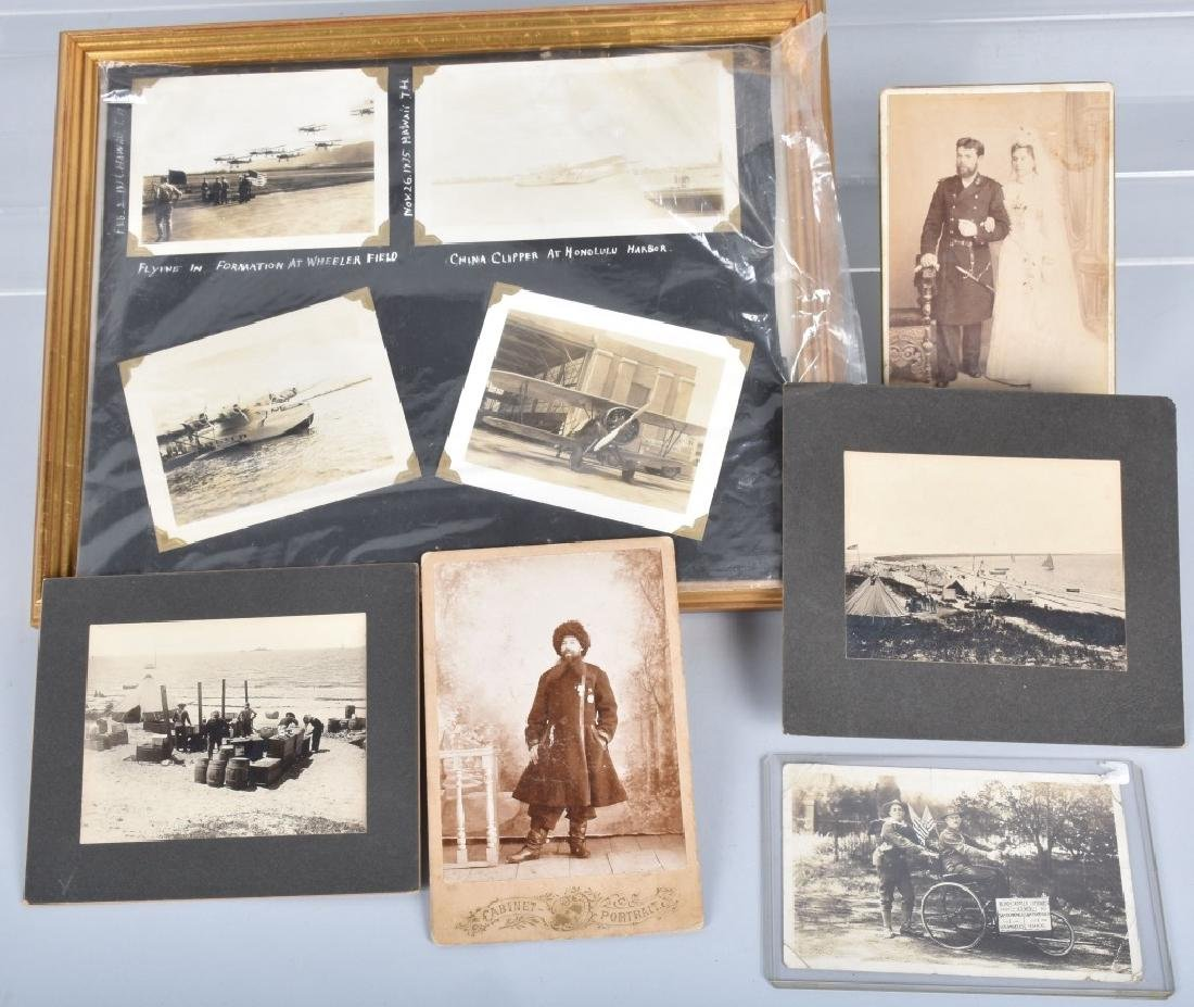 LOT OF EARLY MILITARY PICTURES