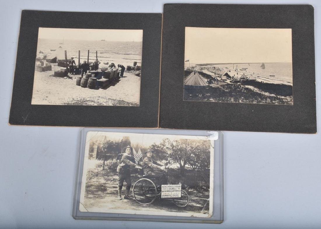 LOT OF EARLY MILITARY PICTURES - 4
