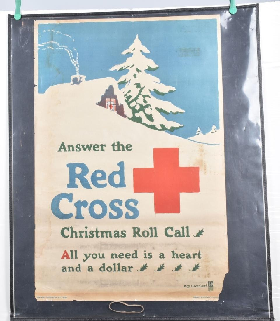 WWI RED CROSS CHRISTMAS POSTER