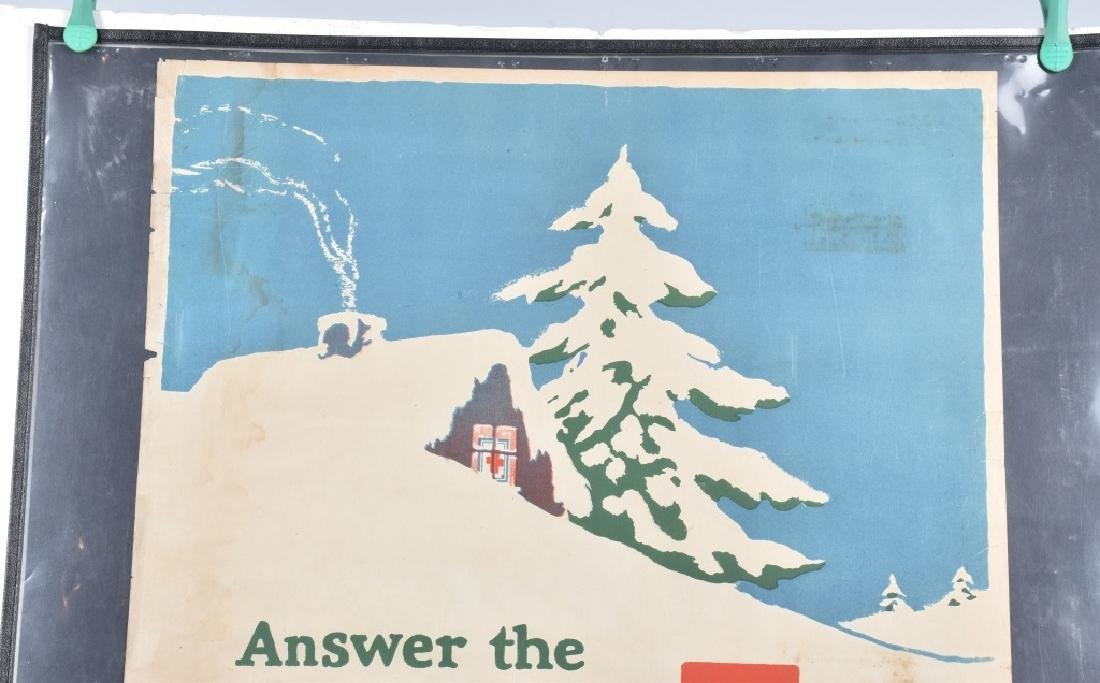 WWI RED CROSS CHRISTMAS POSTER - 2