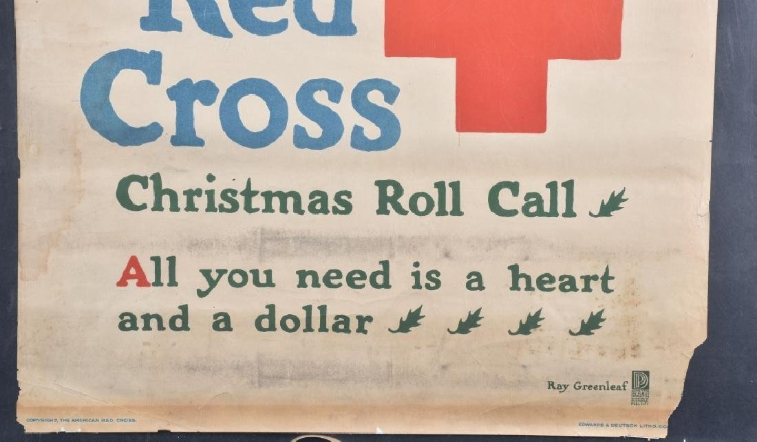 WWI RED CROSS CHRISTMAS POSTER - 4