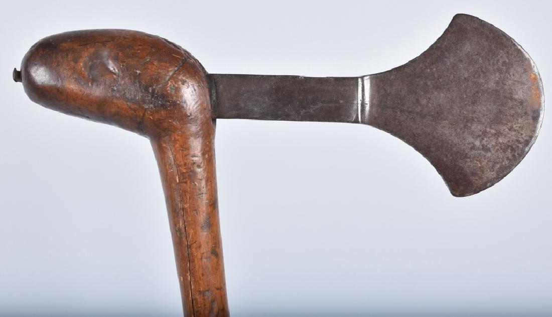 19th Century HAND FORGED WAR CLUB - 3