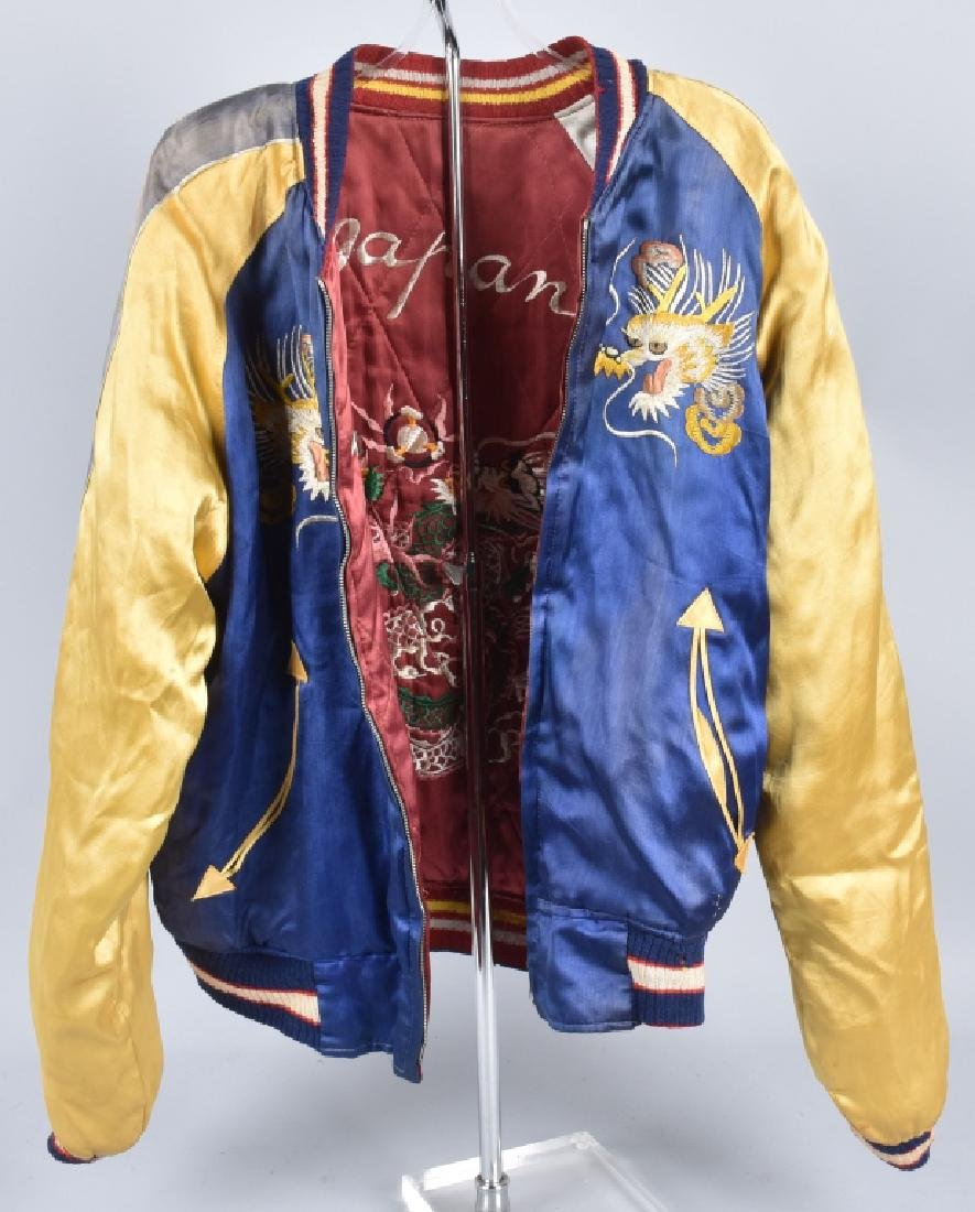 WW2 JAPANESE SILK ADULT BOMBER JACKET