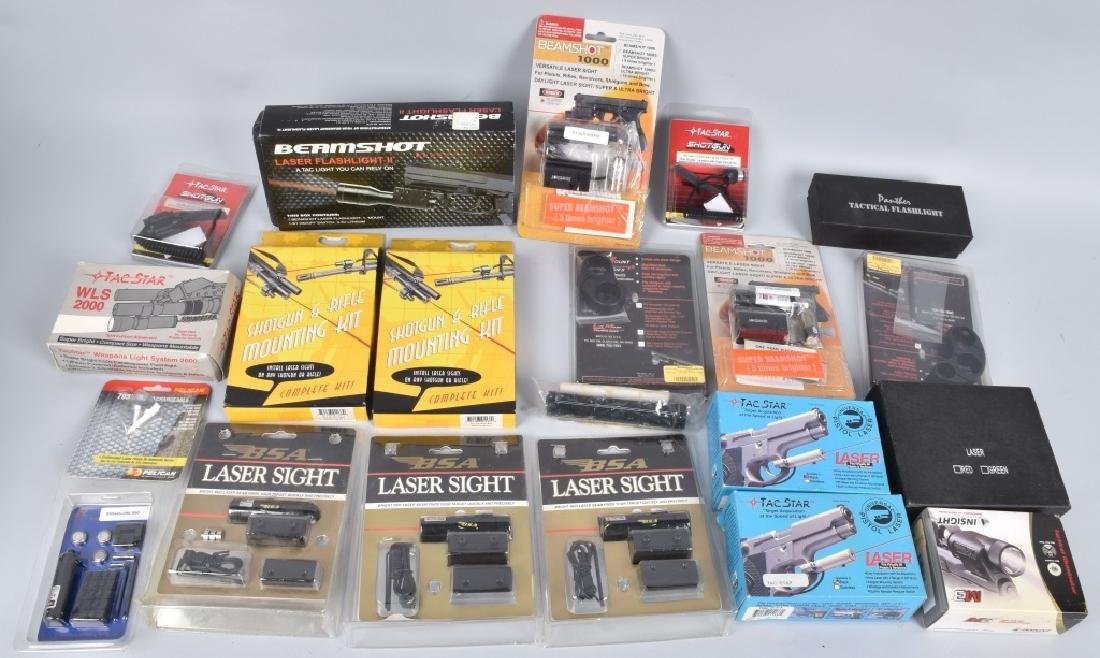 LASER SIGHT & WEAPONS LIGHT LOT
