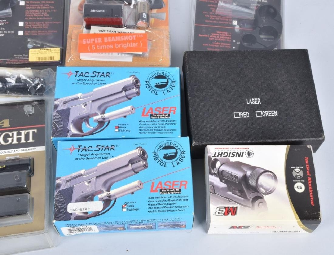 LASER SIGHT & WEAPONS LIGHT LOT - 4