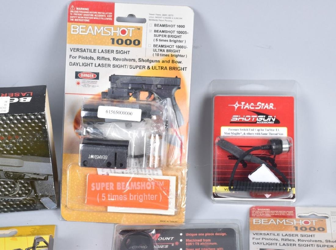 LASER SIGHT & WEAPONS LIGHT LOT - 5