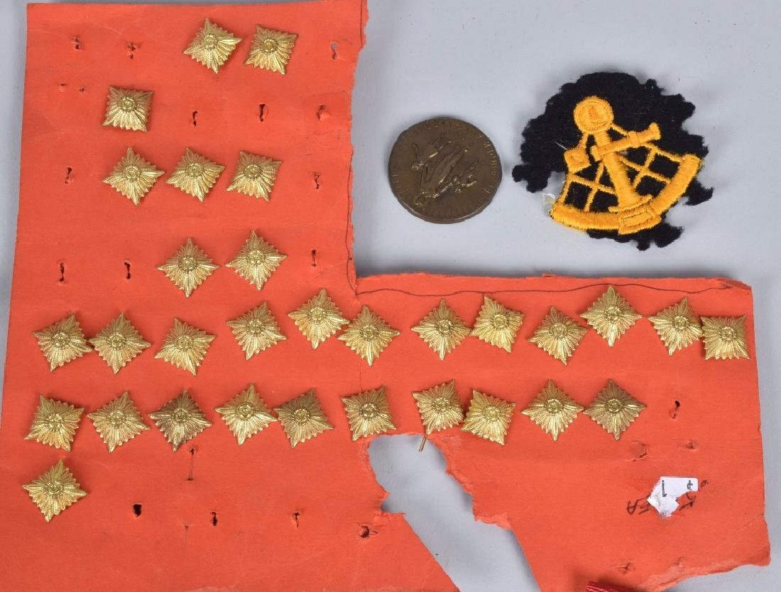 LARGE LOT of NAZI GERMAN PINS & PATCHES - 2