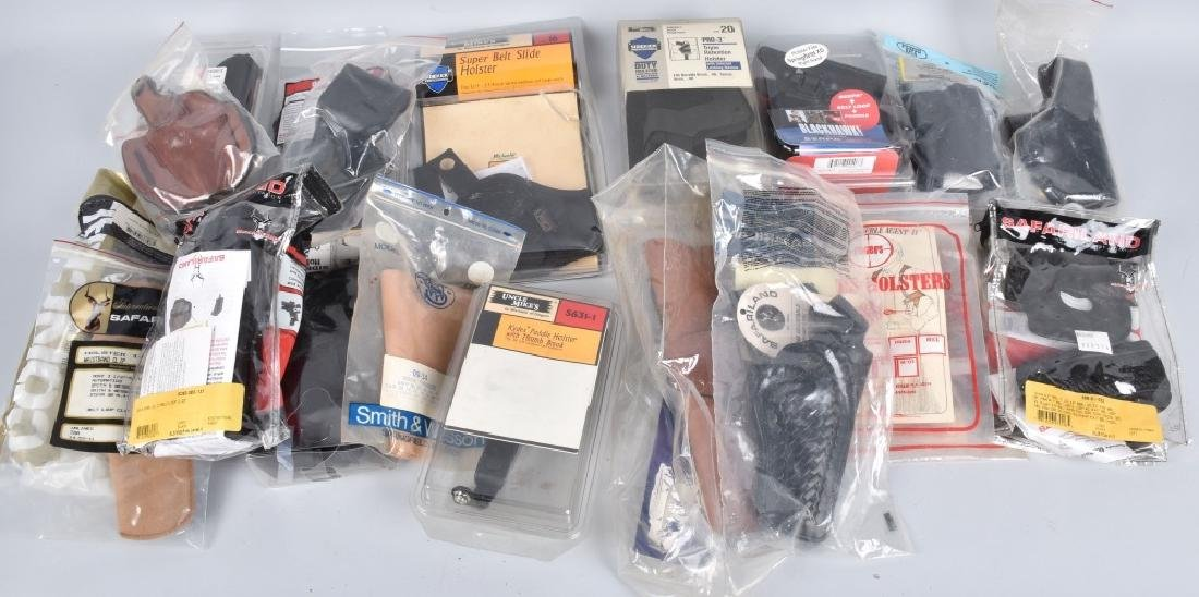20-HANDGUN HOLSTERS LOT
