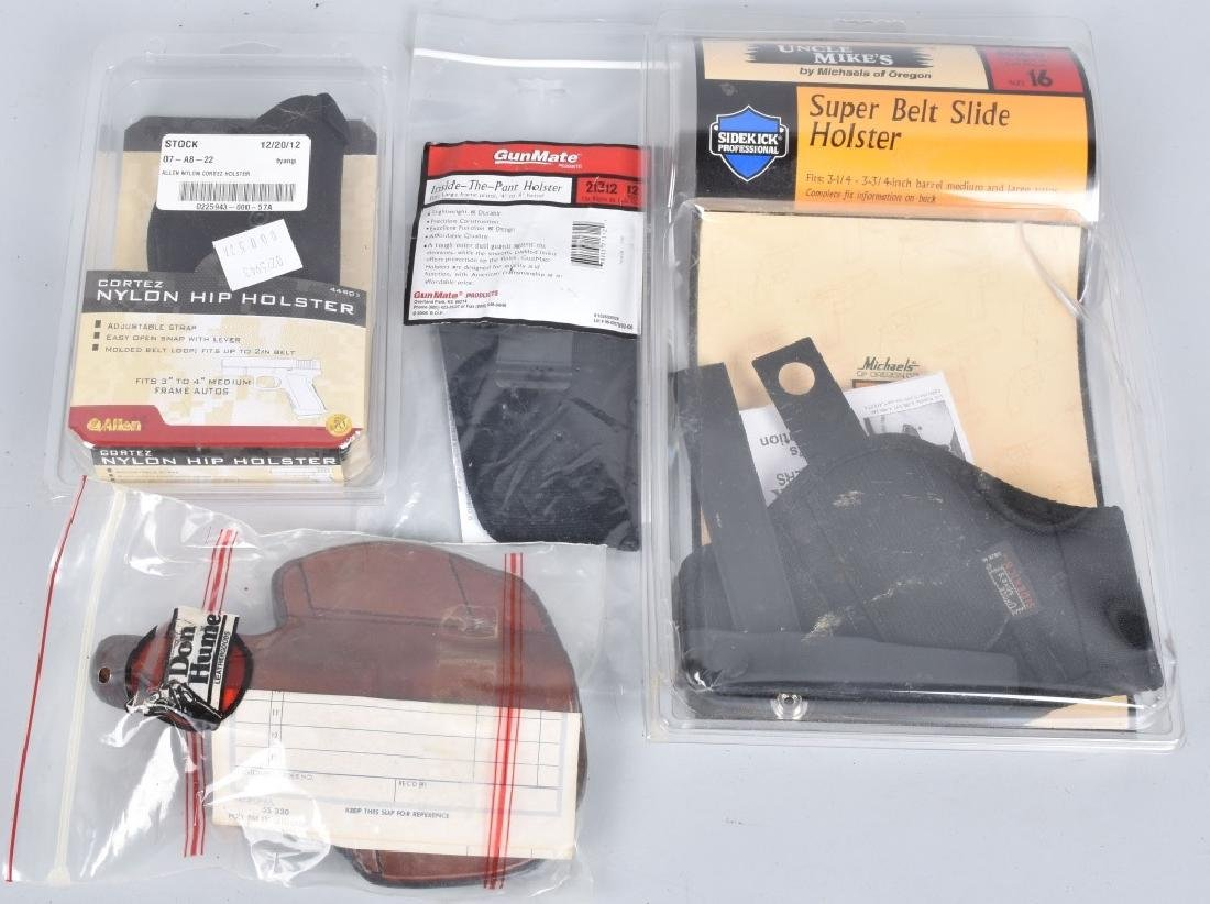 20-HANDGUN HOLSTERS LOT - 6