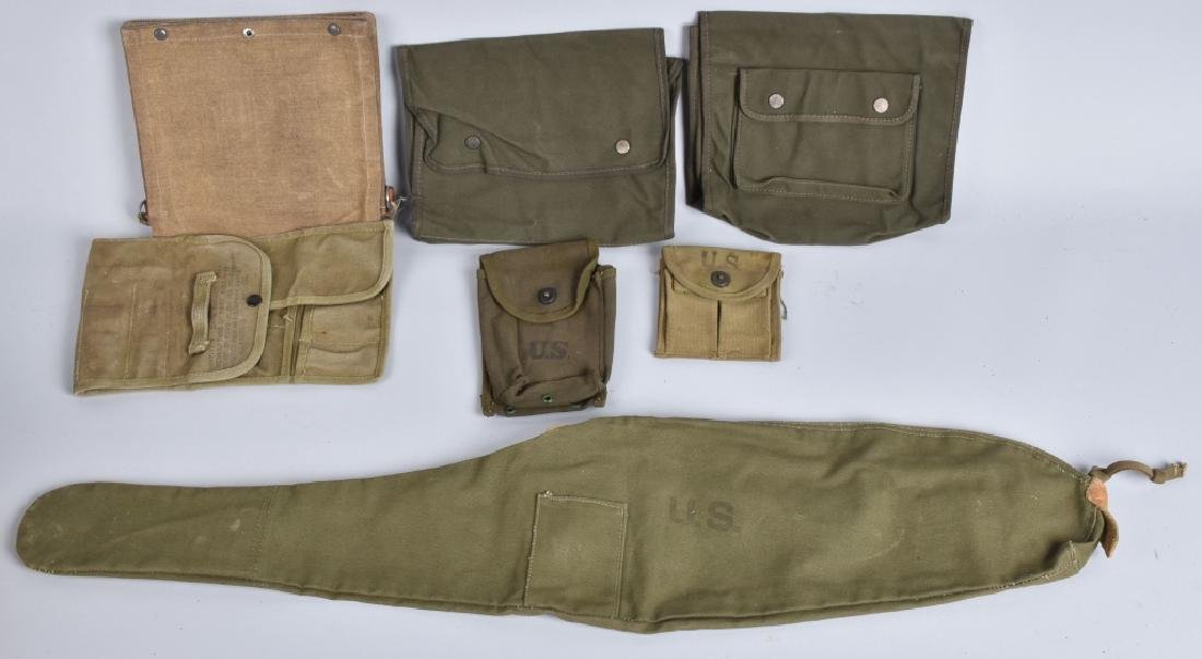 US M1 CARBINE CASE, POUCHES and MORE - 2