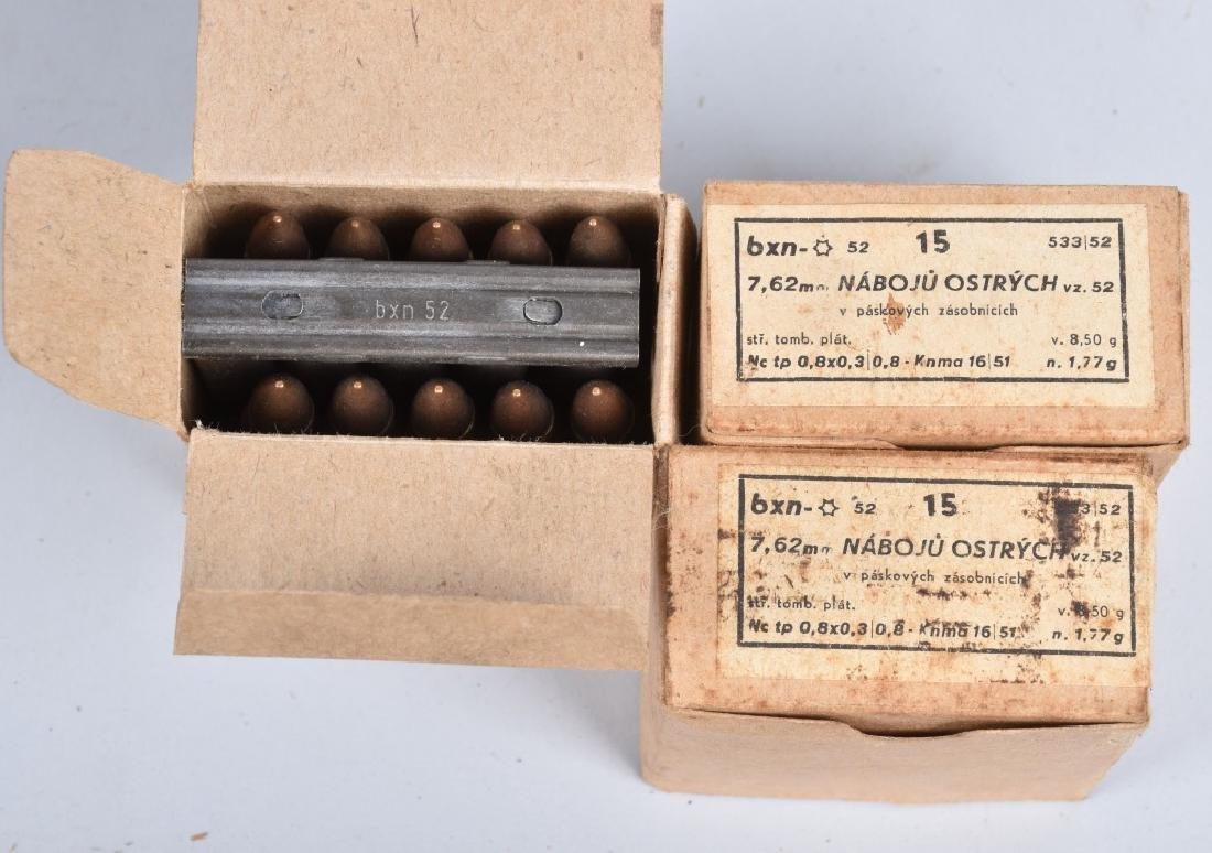 AMMUNITION LOT 500 ROUNDS 7.62MM x 52, & 7.62MM - 3