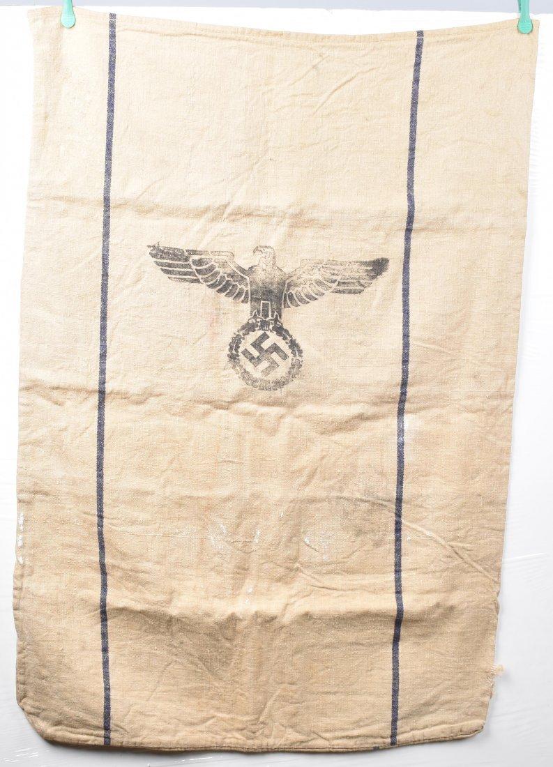 WWII NAZI GERMAN ARMY SUPPLY GRAIN SACK, 1939 - 3