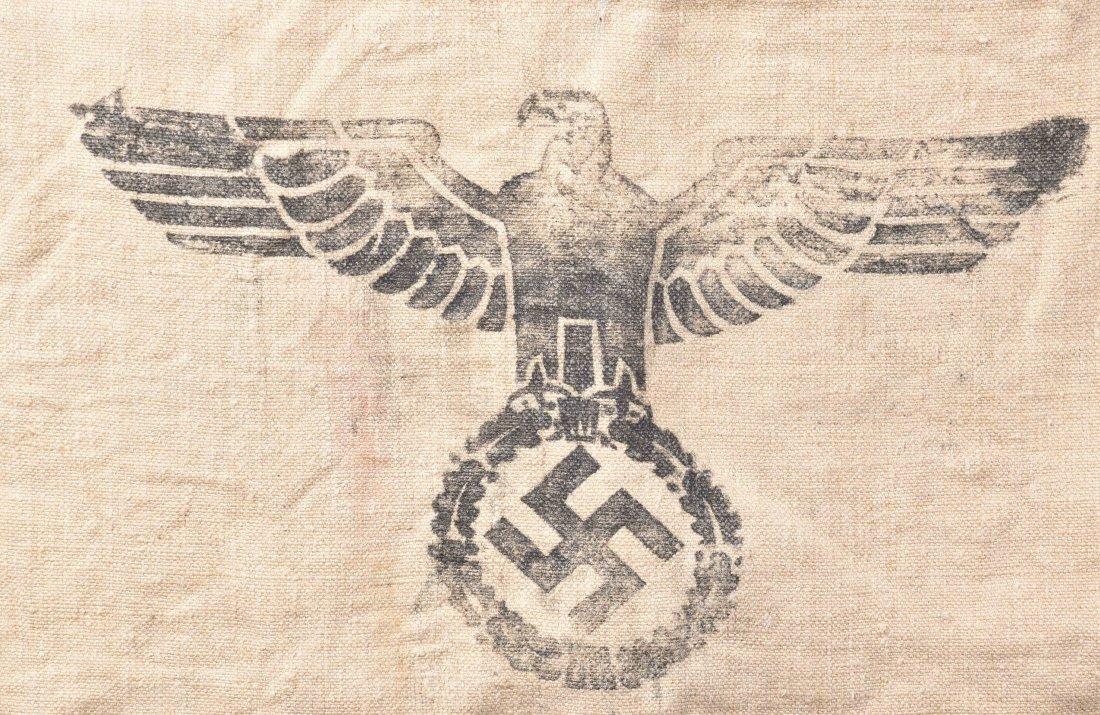 WWII NAZI GERMAN ARMY SUPPLY GRAIN SACK, 1939 - 4