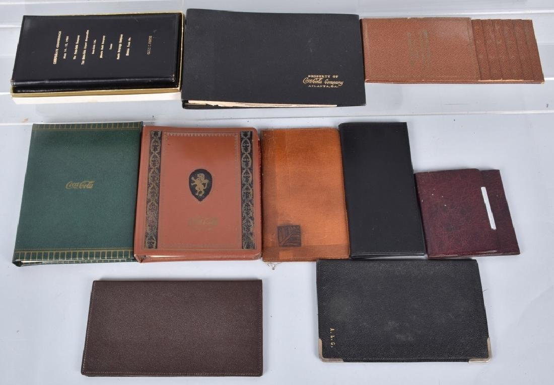 VINTAGE COCA COLA WALLETS & ADDRESS BOOKS