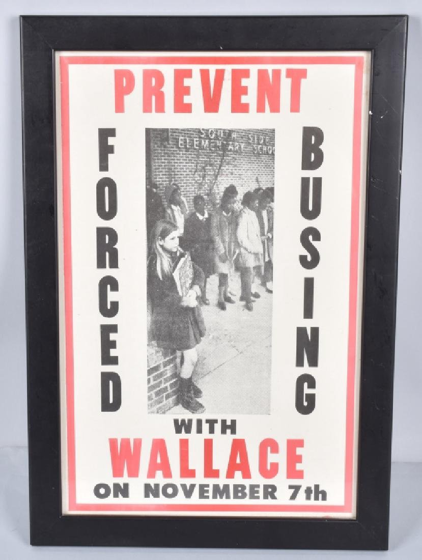 PREVENT FORCED BUSING WITH WALLACE POSTER