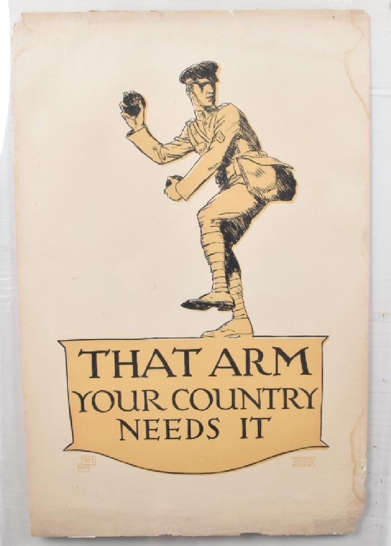 WW1 THAT ARM YOUR COUNTRY NEEDS IT POSTRER