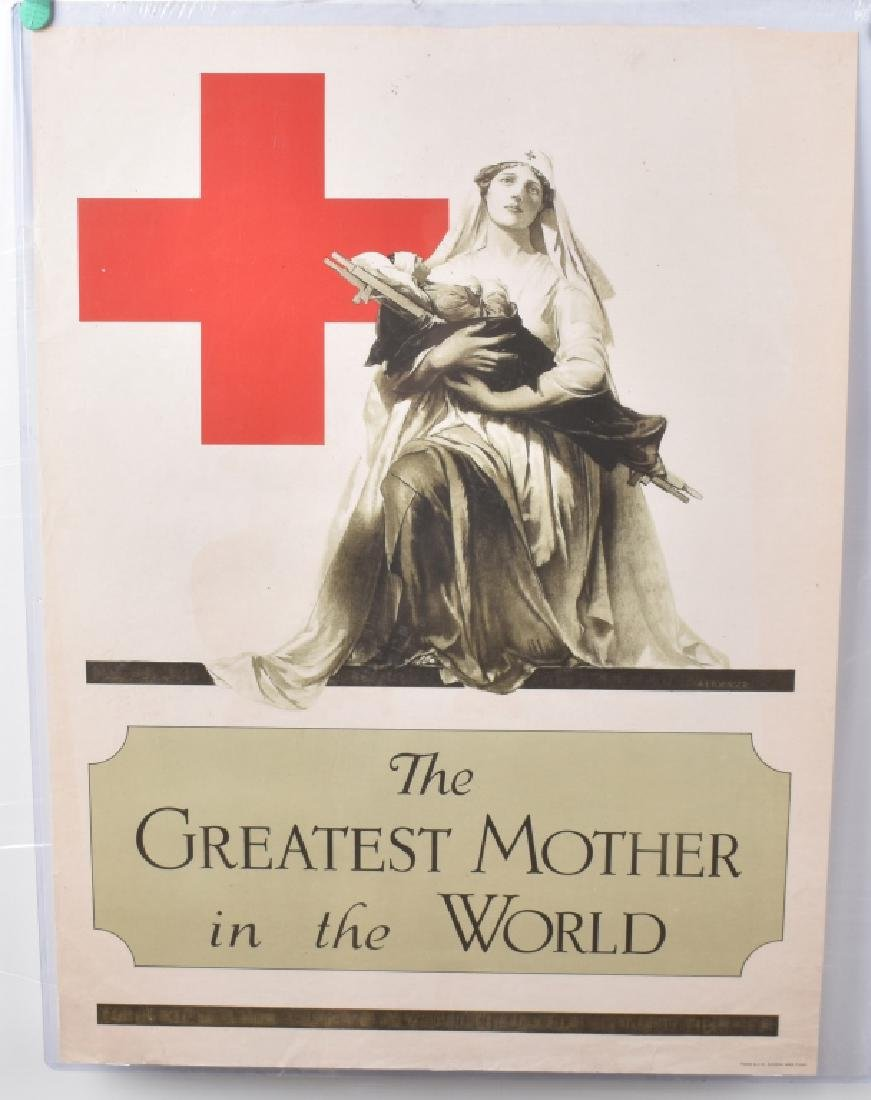 WW1 THE GREATEST MOTHER IN THE WORLD POSTER