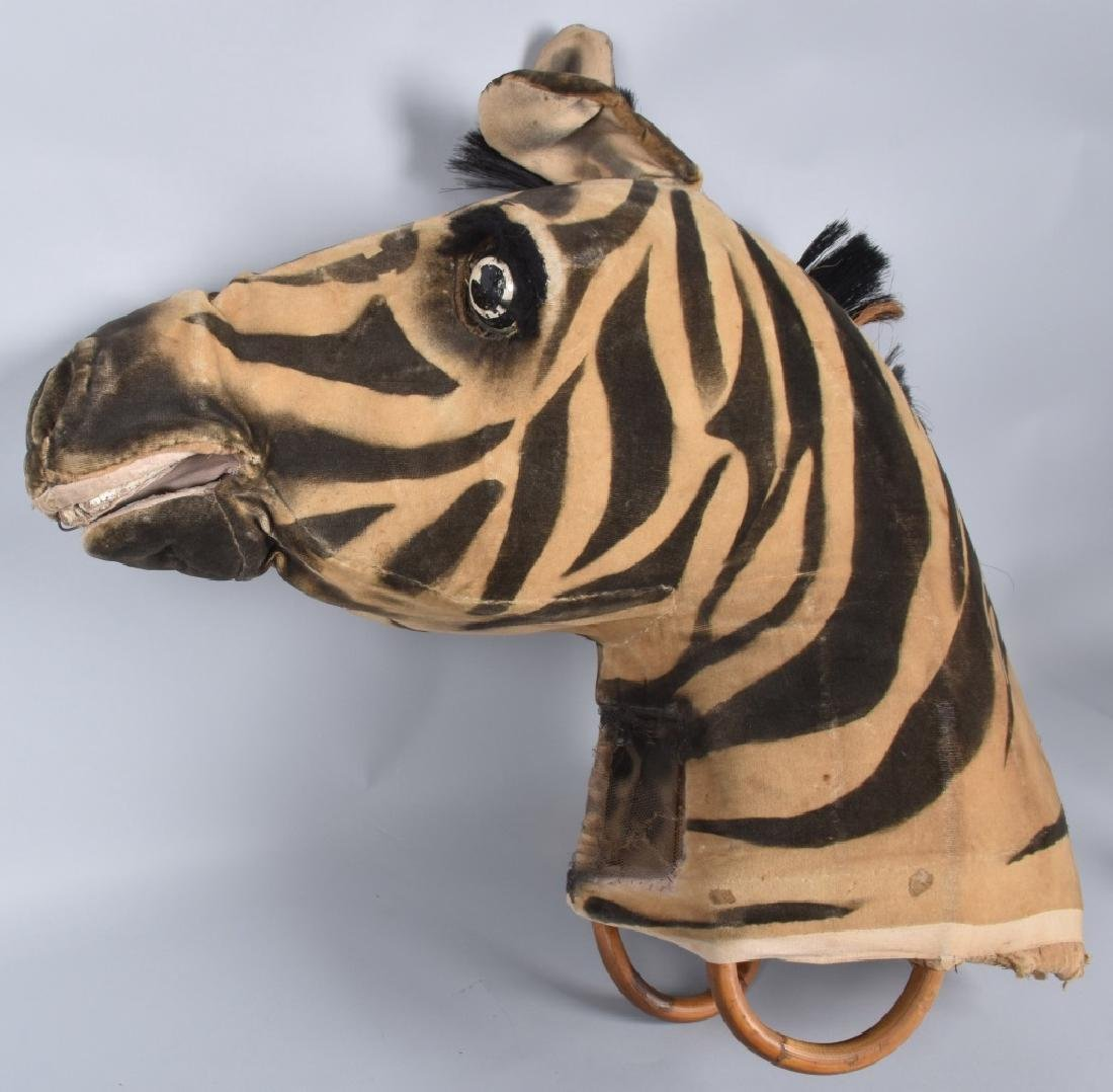 EARLY ZEBRA PARADE MASK
