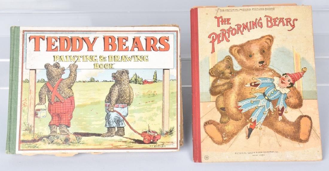 EARLY TEDDY BEARS BOOKS, 1 MECHANICAL, 1904-1907