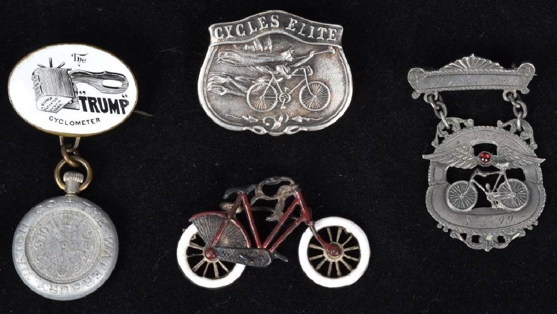 4-EARLY BICYCLE PINS