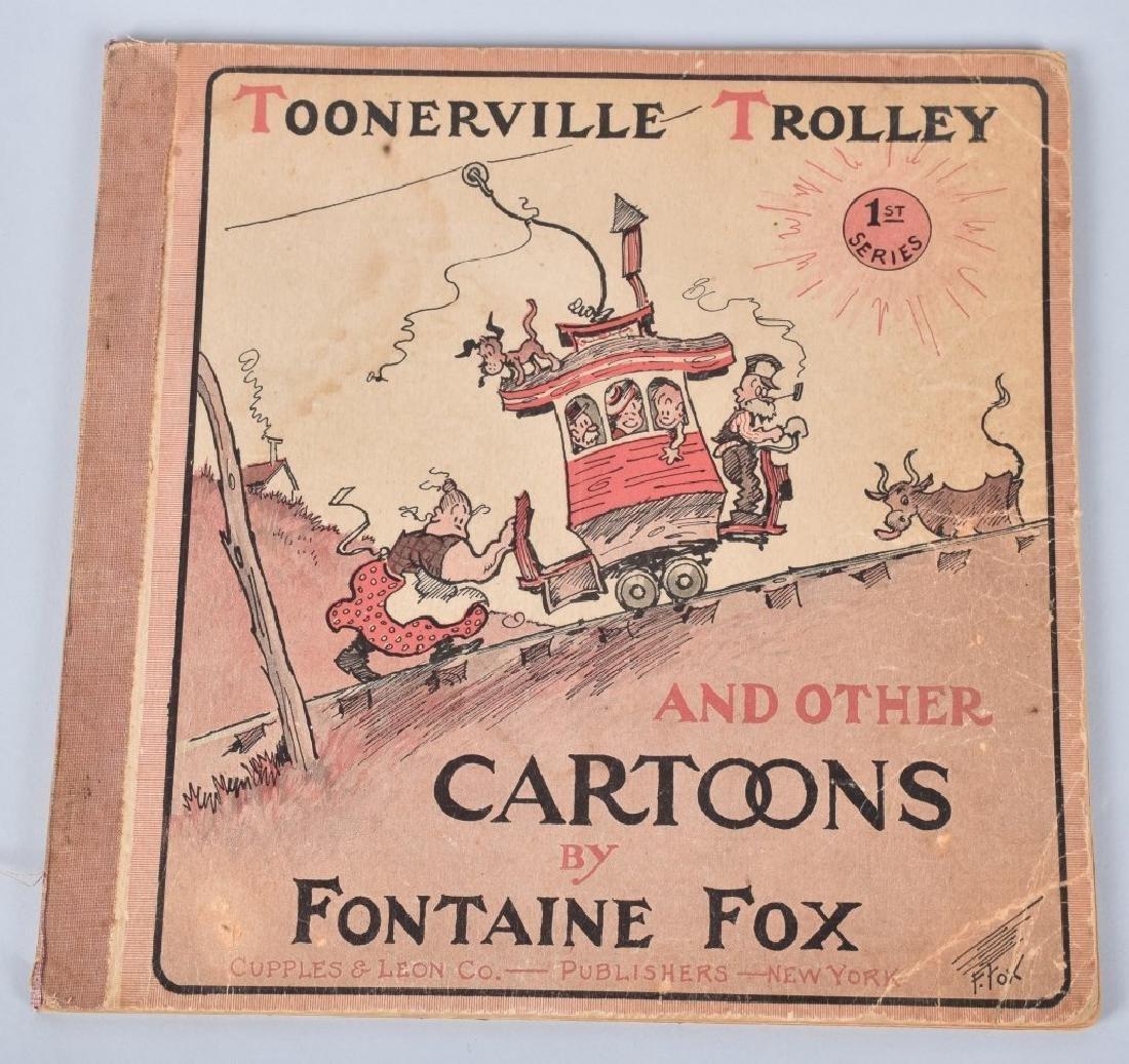 1921 TOONERVILLE TROLLEY CARTOON BOOK