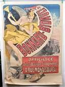 1887 BONNARDBIDAULT FRENCH ADVERTISING POSTER