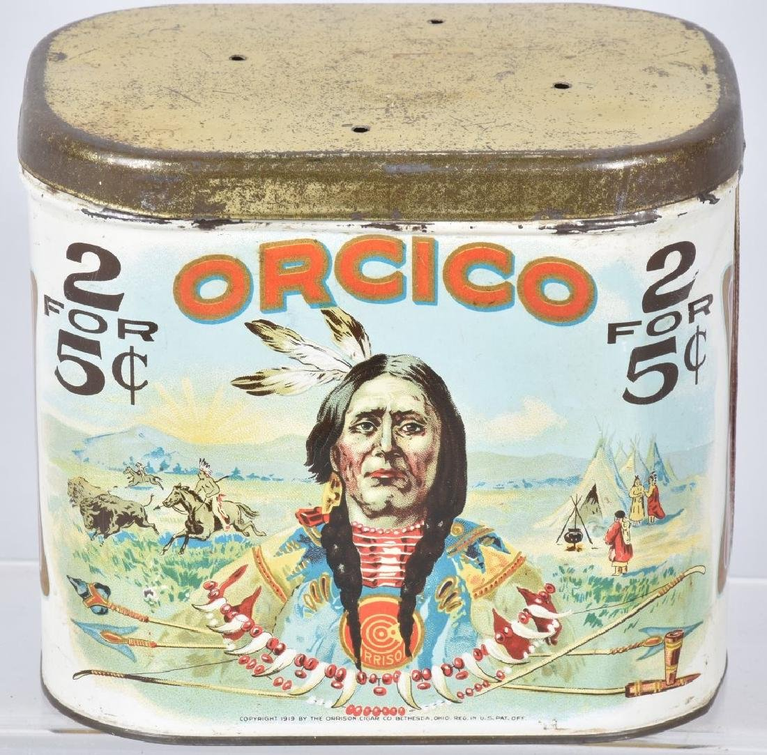 ORCICO INDIAN CIGAR TIN