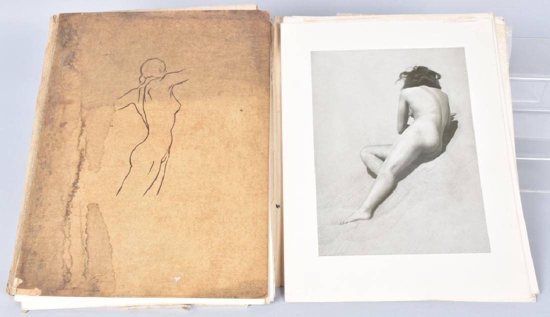 1938 BRUNO SHULTZ NUDE PINUP PHOTE COLLECTION