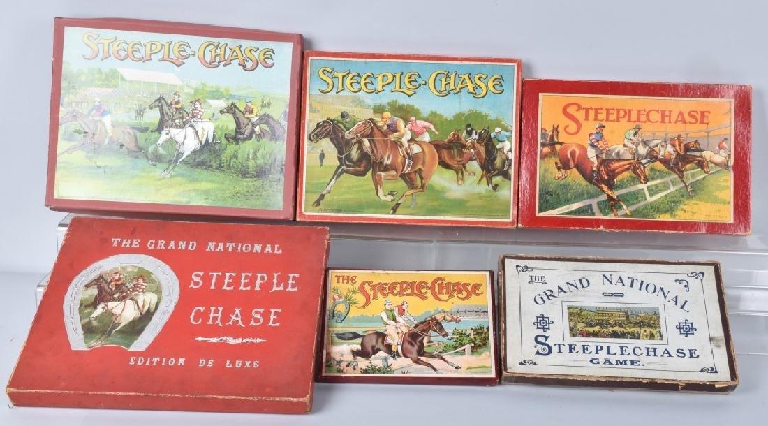 6-VINTAGE STEEPLCHASE, HORSE RACE GAMES