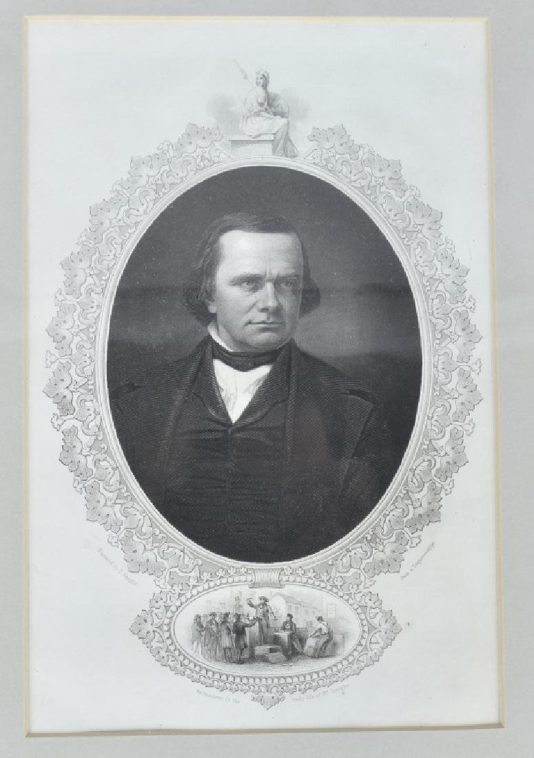 STEPHEN A. DOUGLAS SENATOR AUTOGRAPH - 3