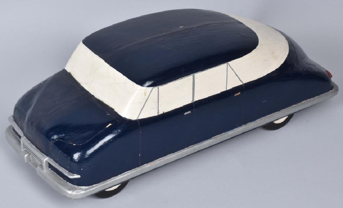 ORIGINAL 1940s CHRYSLER WOODEN STYLE MODEL