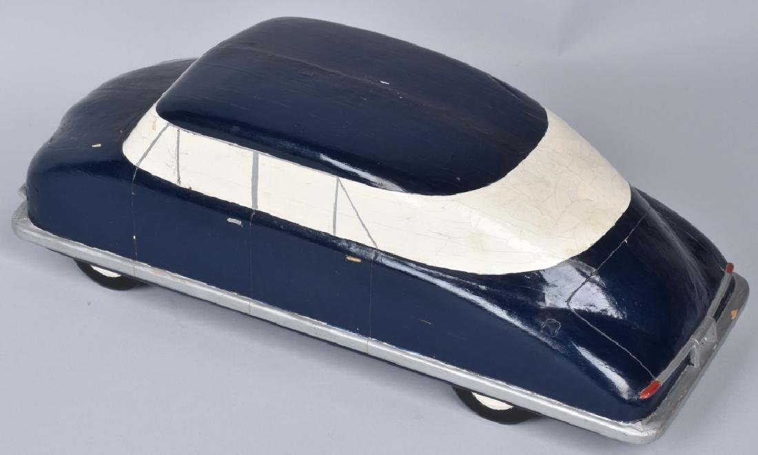 ORIGINAL 1940s CHRYSLER WOODEN STYLE MODEL - 2