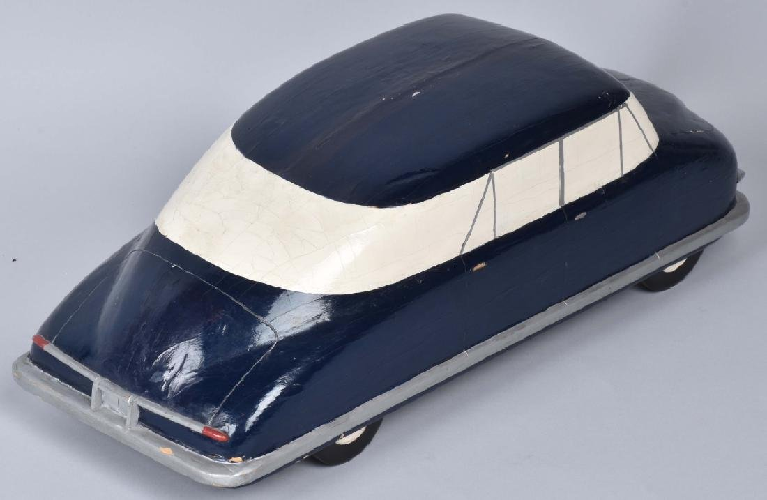ORIGINAL 1940s CHRYSLER WOODEN STYLE MODEL - 3